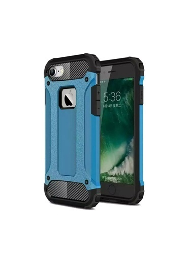 Microsonic iPhone 8 Kılıf Rugged Ar  Mavi
